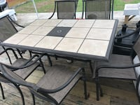 Patio table and chair 6 piece set Old Bridge, 08857