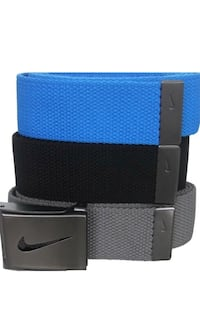 Nike 3 Pack Variety Belts