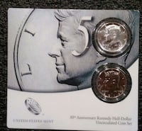 50th Anniv.Kennedy Uncirculated Coin Set Cherry Hill, 08003
