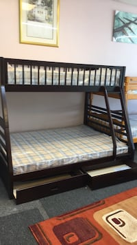 New in the box bunk bed with mattress included $499  Smyrna, 37167