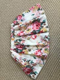 White, pink, and green floral Hawaiian skirt Newark, 94560