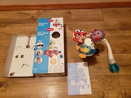 Baby Mobile for crib or stroller battery operated.