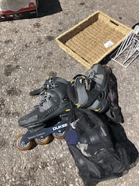 Size 10 men's roller blades. Price is negotiable