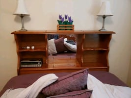Very good condition pine bedroom suite