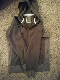 brown zip-up hoodie Lincoln, 68506