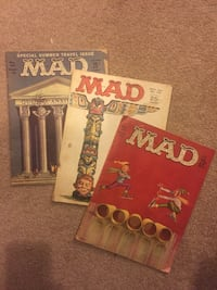 3 Vintage Mad Magazines from the 60's Ajax, L1T 1V1