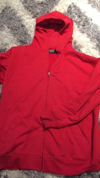 red zip-up hoodie Mississauga, L5R 1N8