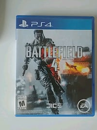 Sony PS4 Battlefield 4 game Vancouver, V6G 1L8
