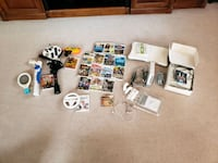 Wii system, games accessories
