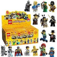 Lego 8683 Box/Case of 60 MINIFIGURES SERIES 1 LONDON