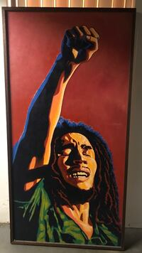 Oil painting of Bob Marley 5ft tall , 2ft 8in wide East Providence, 02915