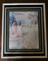 Sisters Watercolor Picture