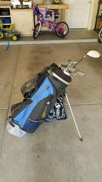 Gently used golf clubs with bag Albuquerque, 87107