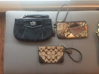Authentic Coach Crossbody Bags/Wristlets