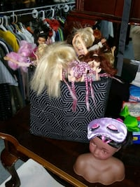 Basket of Barbies