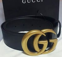 black and brown Gucci leather belt Queens, 11412