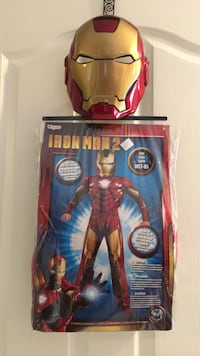 Iron Man 2 Costume Size Medium 7/8 Great for Halloween or super hero dress up. Bradford pick up. Bradford, L3Z 3B7