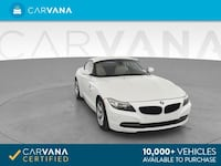2012 BMW Z4 Convertible sDrive28i Roadster 2D WHITE Brentwood
