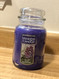 New Yankee Candle Large Jar Candle Lilac Blossoms(pick up only) Alexandria, 22315