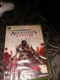 Assassin's Creed 3 Xbox 360 game case Jamestown, 14701