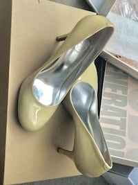 Pair of beige leather round-toe pumps Union City, 94587