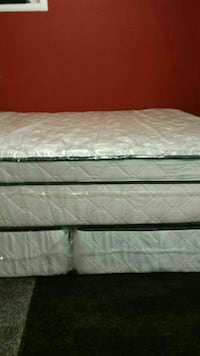 King size thick pillow top bed can deliver  Spring Hill