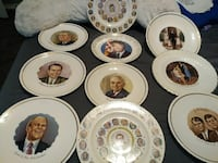 President collectors plates