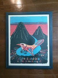 Califone and Orso at Hideout concert poster signed Chicago, 60642