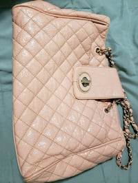 quilted brown leather crossbody bag Selkirk, R1A 3T7