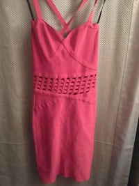 pink and white spaghetti strap dress Las Vegas, 89109