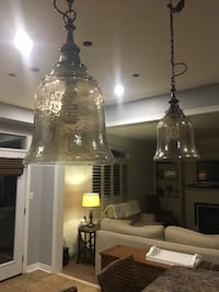 Large Glass Pendant lights from Bowrings price is for each light Courtice, L1E 3H9
