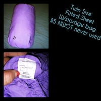 Twin size Lavendar FITTED sheet Stanley