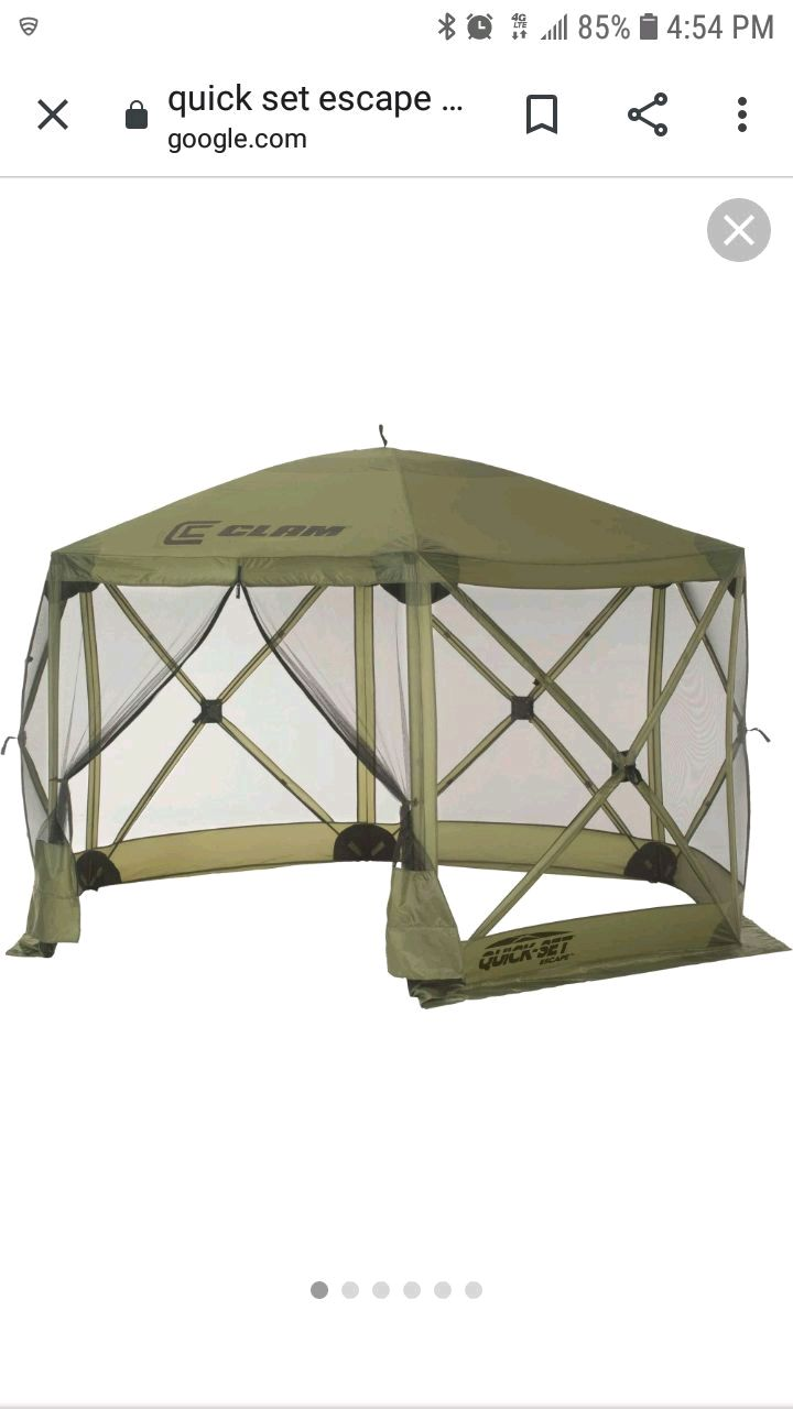 Photo Quick set popup shelter