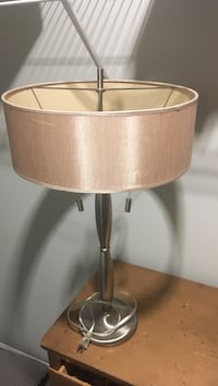 brown and white table lamp Mooresville, 28117