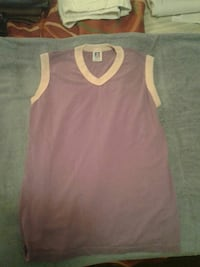 women's pink and white tank top Gautier, 39553