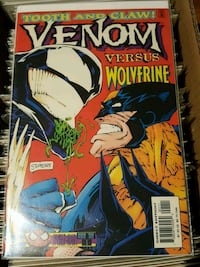 #1 Venom Tooth and Claw Wolverine comic book MARVEL