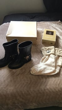 New MK boots and socks!  Calgary, T2H