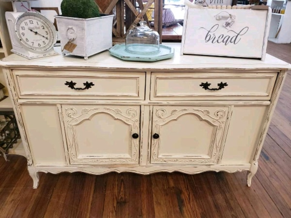 Shabby Chic Console Cabinet Buffet