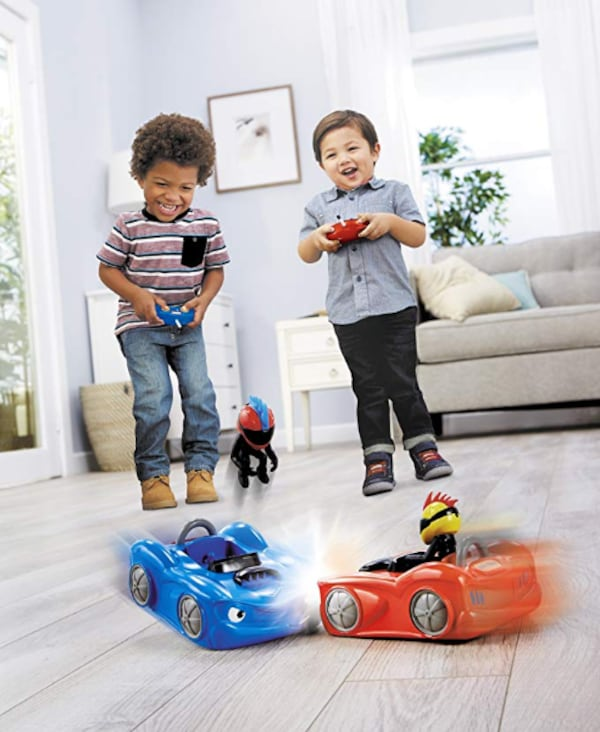 Little Tikes RC Bumper Cars (2Pk) Remote Controlled Cars 2