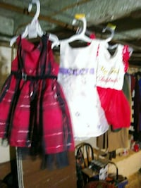 women's pink and white dress Baltimore, 21211