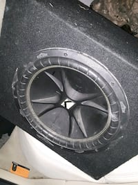 "12"" Kicker Comp subwoofer and amp"