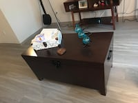 brown wooden single pedestal desk Doraville, 30360
