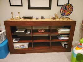 Solid Cherry Wood Room Divider