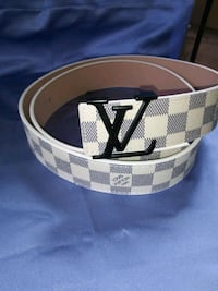 "fashion louis vuitton belts Men's size 33 38"" Houston, 77074"