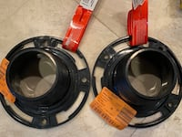 """Oatey 4"""" ABS twist-n-set replacement flange"""