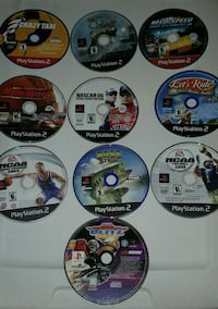 10 ps2 games $40 for ALL  Smyrna
