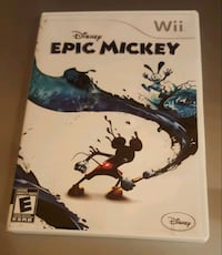 Epic Mickey Wii game  Laval, H7M 4P8