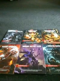 D &D books 100 for all 25 each Bakersfield, 93307