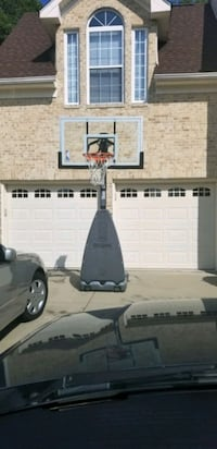 Portable Basketball Hoop with Base