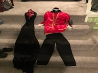 two black and red long-sleeved shirts Chicago Ridge, 60415